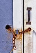Metal Art - Locked Out by Evelina Kremsdorf