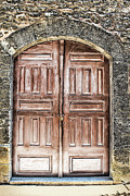 Entrance Door Digital Art Posters - Locked Poster by Tom Prendergast
