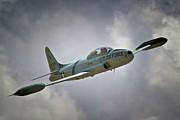Lockheed P-80 Shooting Star 2011 Chino Air Show Print by Gus McCrea