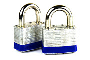 Padlock Posters - Locks Poster by Blink Images