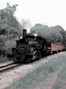 Train Track Prints - Locomotion Print by Scott Hovind