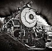 Headlight Originals - Locomotive Number Nine by Marius Sipa
