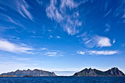 Lofoten Islands Framed Prints - Lofoten Islands Skies Framed Print by Heiko Koehrer-Wagner