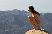 Artistic Nude Photos - Lofty Perch by Brian  Connor