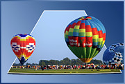 Oof Photos - Logan County Bank Balloon 05 by Thomas Woolworth