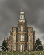 Lds Art - Logan Utah LDS Temple by Jim Speth