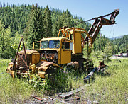 Loader Photos - Logging Truck 2 - Burke Idaho Ghost Town by Daniel Hagerman
