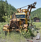 Loader Photos - Logging Truck - Burke Idaho Ghost Town by Daniel Hagerman