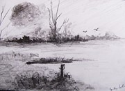 Trilby Cole - Loghrea Lake In Graphite