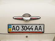 Logos Old Car Print by Odon Czintos