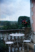 Raindrops Prints - Loire Valley View Print by Madeline Ellis