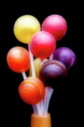 Bright Metal Prints - Lollipop Bouquet Metal Print by Tom Mc Nemar