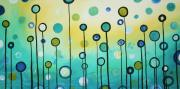 Interior Design Painting Posters - Lollipop Field by MADART Poster by Megan Duncanson