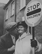 Stop Sign Photos - Lollipop Lady by Frank Barratt