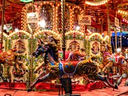 Amusement Ride Prints - London 106 Print by Lance Vaughn