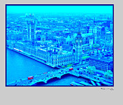 Xoanxo Cespon Prints - London 2 Print by Xoanxo Cespon