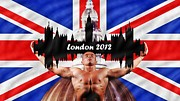 Athletes Digital Art Prints - London 2012 Print by Sharon Lisa Clarke