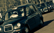 London Photo Posters - London Black Taxi Cabs Poster by Andy Smy