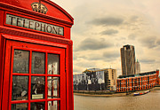 Pop Art Photos - London calling by Jasna Buncic