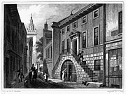Handbill Framed Prints - London: Dyers Hall, 1830 Framed Print by Granger