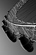 London Structure Prints - London Eye Print by David Pyatt