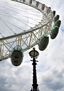 London Eye Posters - London Eye Poster by Svetlana Sewell