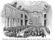 Dining Hall Prints - London: Freemasons Hall Print by Granger
