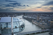 Big Man Photo Originals - London from London Eye by Sebastian Condrea