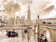 London Painting Prints - London II Print by Svetlana and Sabir Gadghievs