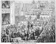 Conducting Prints - London: Orchestra, 1846 Print by Granger