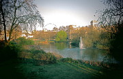 Blake Yeager Metal Prints - London Park Metal Print by Blake Yeager