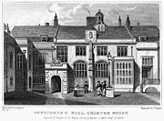 Pensioner Prints - London: Pensioners Hall Print by Granger
