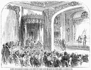 Devonshire Prints - London: Private Theater Print by Granger