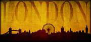 London England  Digital Art - London by Ricky Barnard