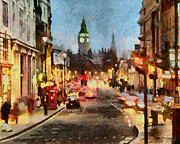 Great Digital Art - London Scene by Anthony Caruso