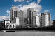 Library Digital Art - London Skyline by Martin  Fry