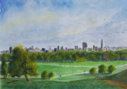 London Skyline Art - London Skyline by Tony Williams