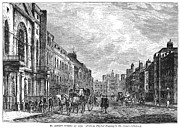 1750 Framed Prints - London: St. James Street Framed Print by Granger