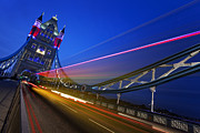 Fine Art Photo Prints - London Tower Bridge Print by Nina Papiorek