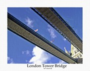 Bw Paintings - London Tower Brigde 4 by Stefan Kuhn