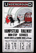 Hampstead Posters - London: Underground, 1910 Poster by Granger