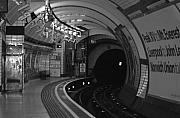 Subway Metal Prints - London Underground Metal Print by Carmen Hooven