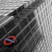 Fine Art Photo Prints - London Underground Print by Nina Papiorek