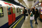 Train Digital Art Originals - London Underground by Sydney Alvares