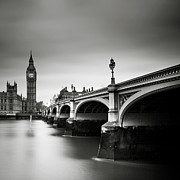 Gb Prints - London Westminster Print by Nina Papiorek