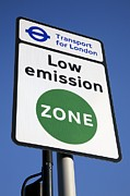 Deterrent Posters - Londons Low Emission Zone, 2008 Poster by Victor De Schwanberg