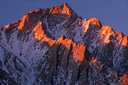 Californian Photos - Lone Pine Peak by Inge Johnsson