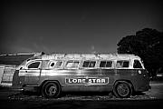 Bus Photo Originals - Lone Star Bus 1 by John Gusky