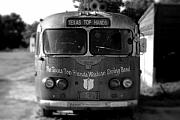 Bus Photo Originals - Lone Star Bus 2 by John Gusky
