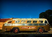 Bus Photo Originals - Lone Star Bus 3 by John Gusky